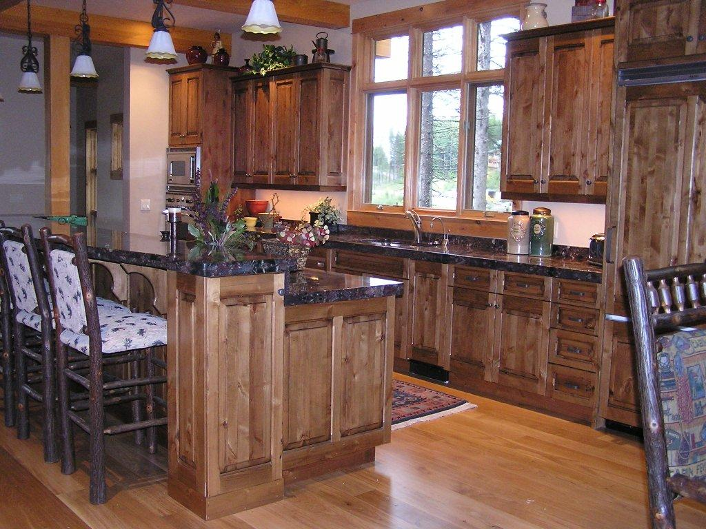 Rustic Pine Kitchen Cabinets Quotes